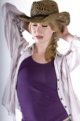 Blond Cowgirl