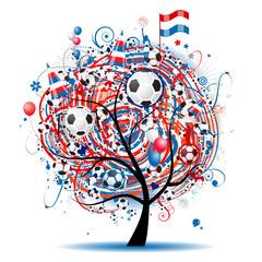 Football tree design