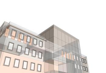 office building 3d
