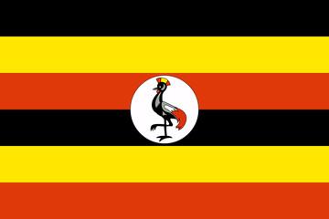 Wall Mural - Uganda Flag