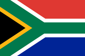 Wall Mural - South Africa Flag
