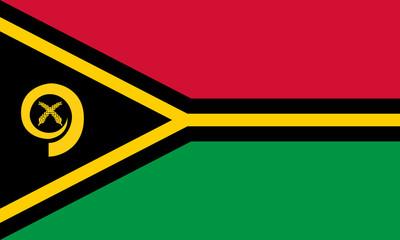 Wall Mural - Vanuatu Flag