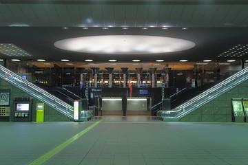 Night at Kyoto main station