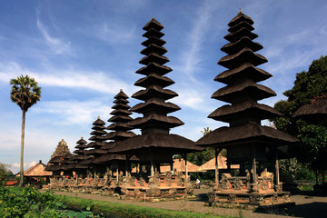 Temple Taman Ayun Indonesia