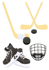 Hockey objects