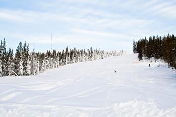 Ski Abfahrt