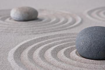 Foto op Plexiglas Stenen in het Zand zen