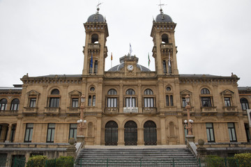 Donostia - San Sebastiàn - Il municipio