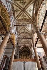 St. Anastasia church in Verona