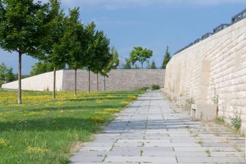Ruhezone in der Stadt Steimauer Weg