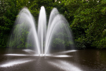 Springbrunnen im Stadtwald