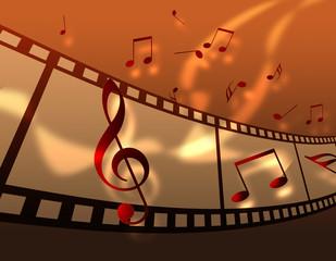音楽とフィルム