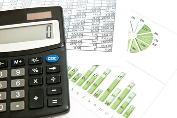 Calculator and chart