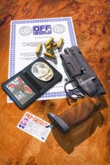futuristic police gun