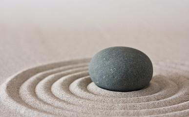 Fotobehang Stenen in het Zand zen
