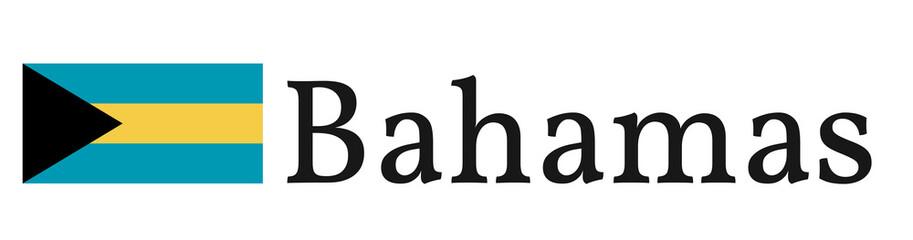 "Banner / Flag ""Bahamas"""