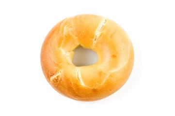 Plain bagel