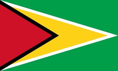 Drapeau-Guyana