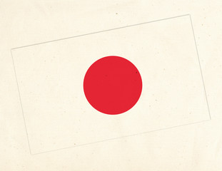 drapeau sur Tissus _ Japon