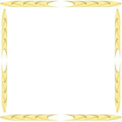 Goldenes Design