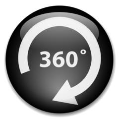 360 DEGREES Web Button (view panorama virtual visit 360° angle)
