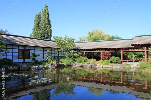 Jardin japonais sur l 39 le de versailles nantes photo libre de droits sur la banque d 39 images for Jardin japonais nantes