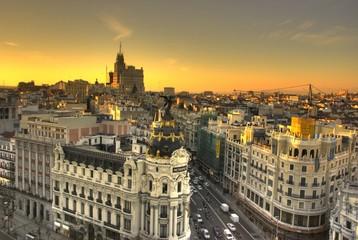 Photo sur Aluminium Madrid Edificio Metropolis Madrid
