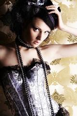 Foto auf Acrylglas Bestsellers elegant model