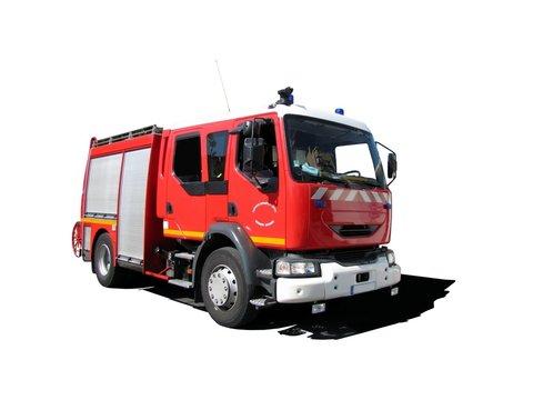 Camion de pompiers ' Fourgon pompe-tonne '