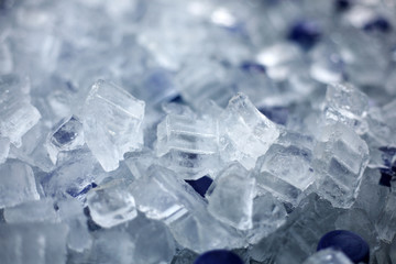 Soft drinks in ice.