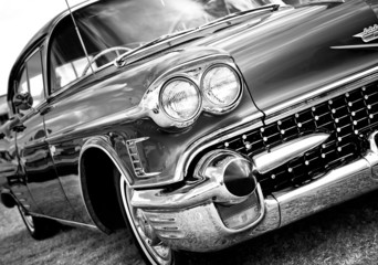 Aluminium Prints Old cars Classic Automobile
