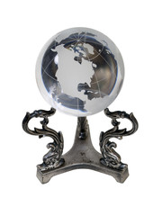 Americas Crystal Globe