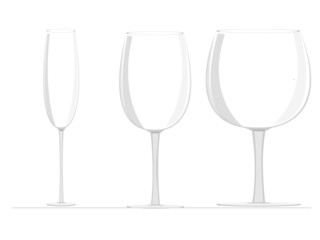 set of wine glass