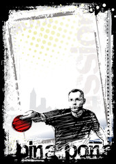 ping pong poster background 2