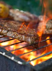 Aluminium Prints Grill / Barbecue Grillen - barbecue