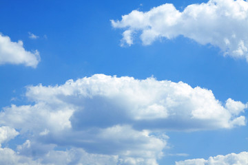 Obraz Blue sky with white clouds - fototapety do salonu