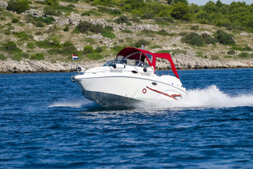 High Speed Motor Boat