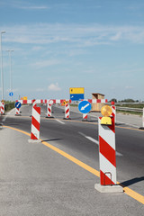 Highway in reconstruction