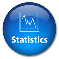 STATISTICS Web Button (diagram chart graph analysis mathematics)