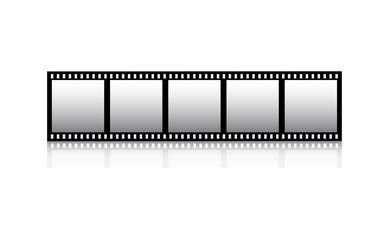 Film stripe vector