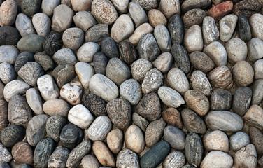 Pebbled wall (big pebble-dash)