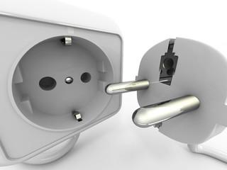 Plug and socket