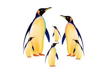 Pinguini in famiglia AI