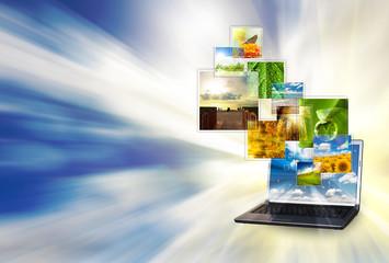 Multimedia laptop