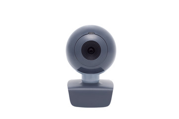 Web camera isolated on white background.