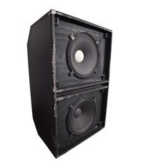 Giant Thrashed Bass Speaker Cabinet