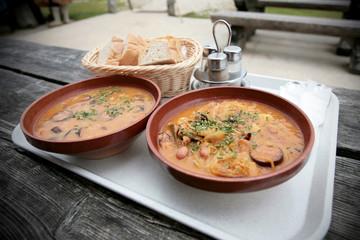 Traditional slovenian food