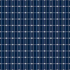 Seamless solar panel pattern