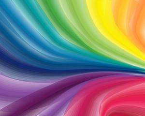 Rainbow splash. Vector illustration