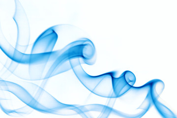 Abstract background of beautiful Blue Smoke